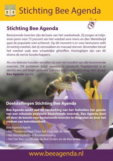 Flyer Beeagenda.nl