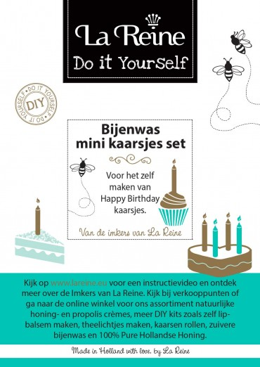 Bijsluiter mini candle kit