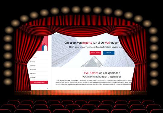 Nieuwe website VvE Advies