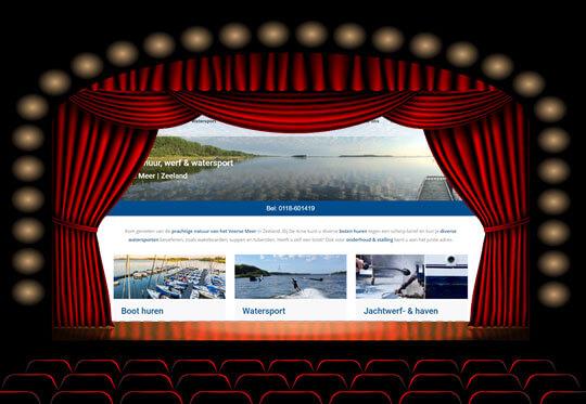 Nieuwe website De Arne