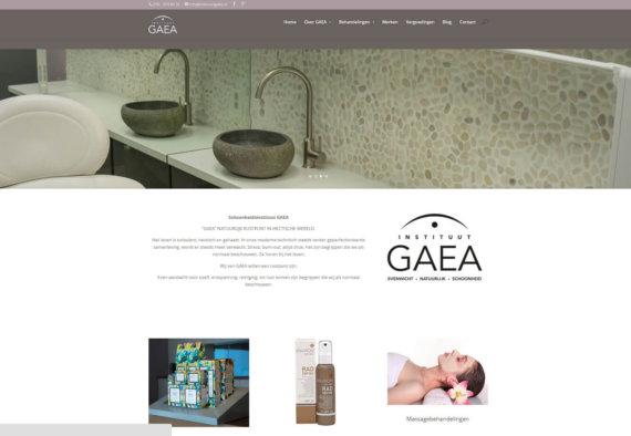 Homepage oud